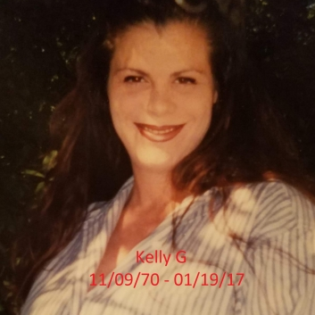 Kelly Gorman11/09/70 – 01/19/17